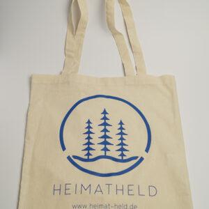 HEIMATHELD Bio Baumwolltasche